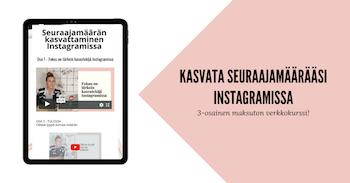 Instagram-markkinoinnin aloittaminen yrittäjille